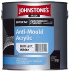 Johnstone's Hygiene Coatings Anti-Mould Acrylic White or Magnolia 2.5 Litres